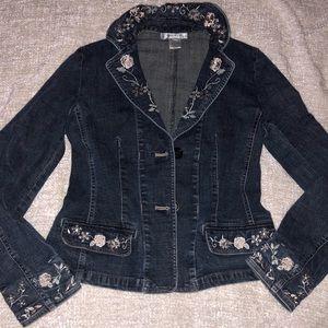 nine west jean jacket!!